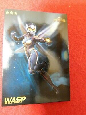 Marvel Contest of Champions: Scan-into-game Arcade card (Wasp) -- NEW --