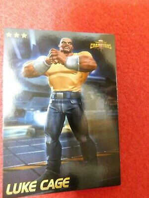 Marvel Contest of Champions: Scan-into-game Arcade card (Luke Cage) -- NEW --