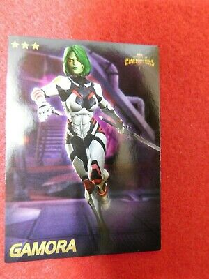 Marvel Contest of Champions: Scan-into-game Arcade card (Gamora) -- NEW --