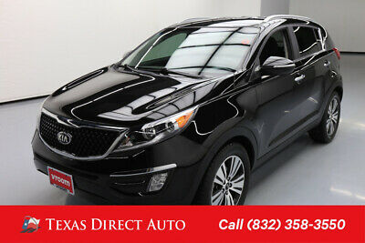 2015 KIA Sportage EX Texas Direct Auto 2015 EX Used 2.4L I4 16V Automatic FWD SUV
