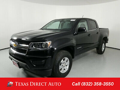 2018 Chevrolet Colorado 2WD Work Truck Texas Direct Auto 2018 2WD Work Truck Used 2.5L I4 16V Automatic RWD Pickup