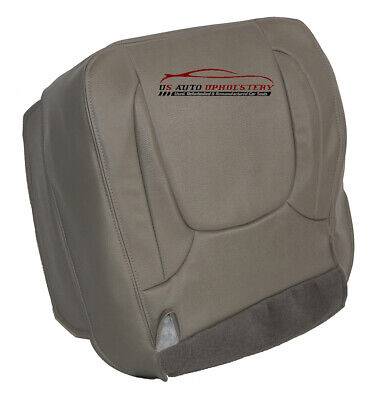 2004 Dodge Ram 1500 Laramie Driver Bottom Synthetic Leather Seat Cover Taupe
