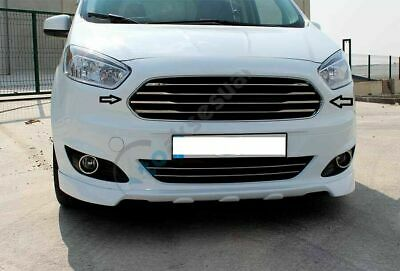 Ford Transit Year 2014 > Front Grill + Frame 5 pcs. S.Steel