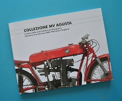 1947-2007 MV Agusta Motorcycle Brochure History Book Sport Racing Scooter F4