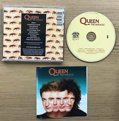 Queen -  The Miracle 2011 Remaster CD