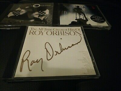Roy Orbison All Time Greatest Hits, King Of Hearts & Mystery Girl 3x CDs