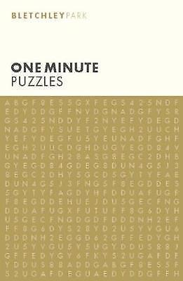 Bletchley Park One Minute Puzzles By Arcturus Publishing NEW (Paperback) Book