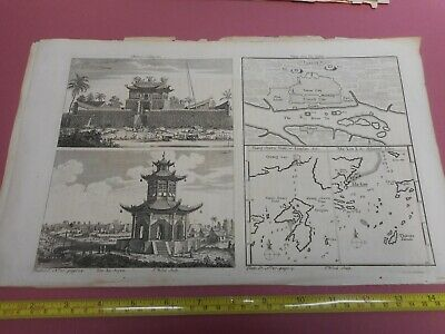 100% Original Canton City Islands China Map By Kitchin C1770 Low Start