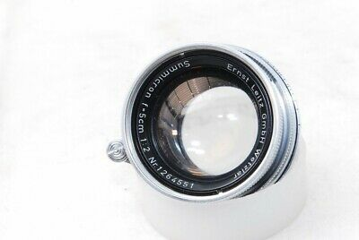 (6104) Leica Leitz Summicron 50mm F/2 Lens for L39 LTM from JAPAN, EXC+!! *READ*