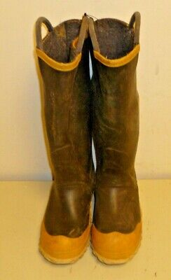 FireWalker Ranger Firefighter Turnout Rubber Boots Steel Toe Size 5 Medium R229