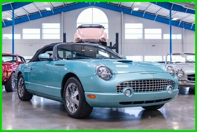 2002 Ford Thunderbird 11k Original Miles / Hardtop Included / No Accidents 2002 Ford Thunderbird Hardtop 3.9L V8 32V Automatic RWD Convertible 02 03 04 05