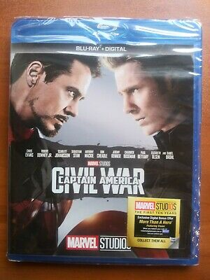 Captain America: Civil War BLU-RAY  + DIGITAL CODE     NS-see Detail