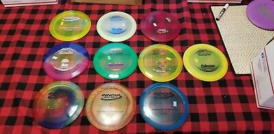 10 innova champion plastic disc golf disc lot#1 New!