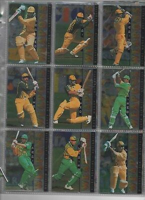 AUSTRALIA Futera ELITE 96 complete set in nine card pages