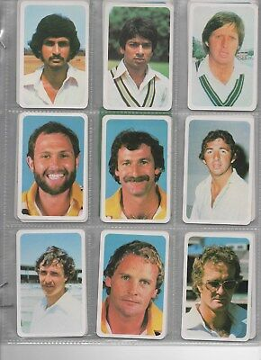 80-81 Australia Ardmona Collector cards Series 3 set in nine card pages