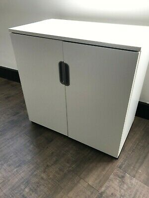 IKEA GALANT Cabinet with doors, White