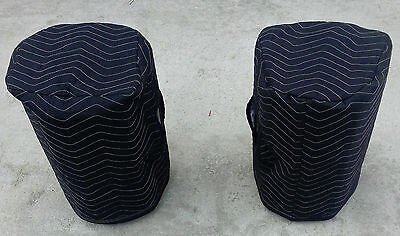 SEISMIC AUDIO PWS-10 Padded Premium Speaker COVERS (2) - Qty of 1 = 1 Pair!