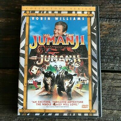 Jumanji (Collector's Series) DVD Movie Video Robin Williams