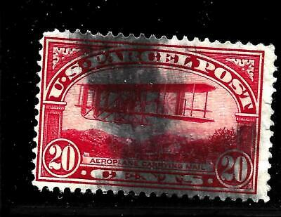 Hick Girl Stamp-Old Used U.s. Parcel Post Sc#q8   Airplane     X7616
