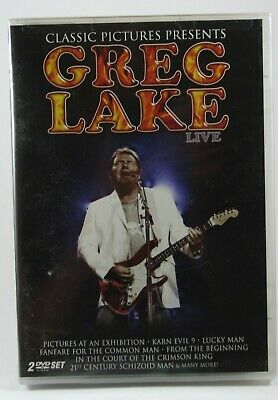 Greg Lake - In Concert (2 x DVD) BRAND NEW Factory Sealed!  ELP See Pics!