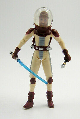 Star Wars Loose Clone Wars CW Obi Wan Kenobi ( Space Gear )