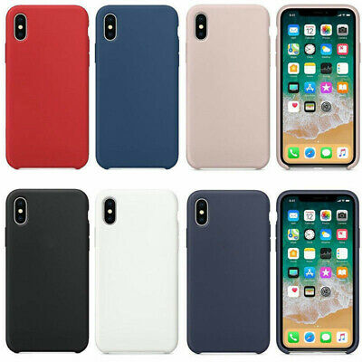 Genuine Original Ultra Thin Silicone Case Cover For Apple iPhone X