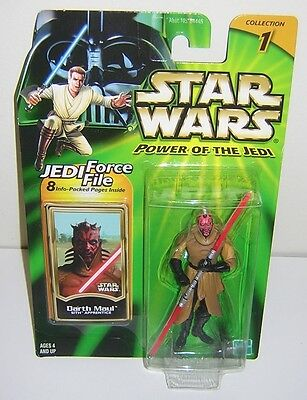 Star Wars POTJ Darth Maul Sith Apprentice Expanded Universe First Release!