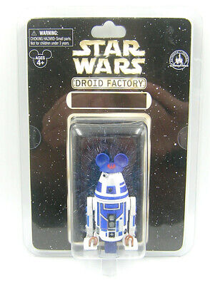 Star Wars Droid Factory 2015 R4 Blue White Astromech Droid Star Tours Mickey