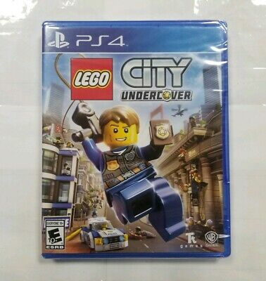 "LEGO City Undercover (Sony PlayStation 4, 2017) ""NEW/SEALED"""