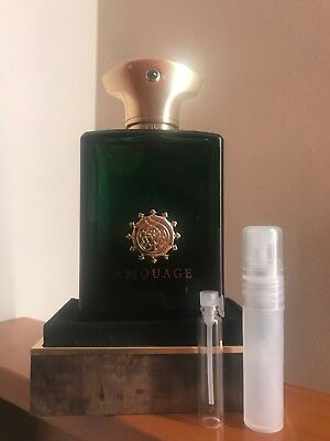 Epic man By amouage EDP Decant sample (magnetic cap)
