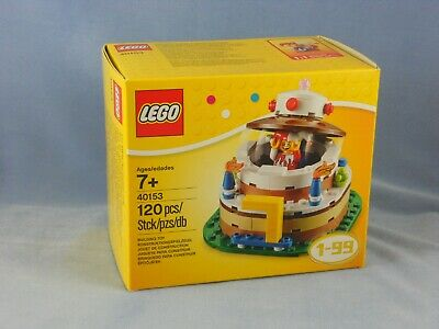 LEGO BIRTHDAY CAKE SURPRISE Building Toy Set 40153 120 Pcs Ages 7