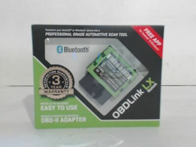NEW OPEN BOX ScanTool 427201 OBDLink LX Bluetooth OBD-II Adapter for Auto $140