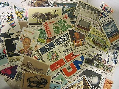 BETTER MINT USA Postage Stamp Lot, all different MNH 6 CENT COMMEMORATIVE UNUSED