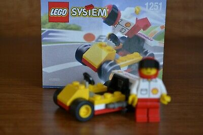 LEGO 1251 GO CART 2001 Shell Oil Promo Promotional #6 of 6