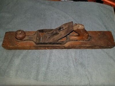 Vintage Stanley Bailey NO. 29 TRANSITIONAL FORE Wood PLANE Pre Lateral 20""