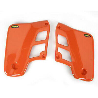 600157 1988-1988 Honda Cr500 Maier Orange Radiator Scoops Honda Dirt Bike