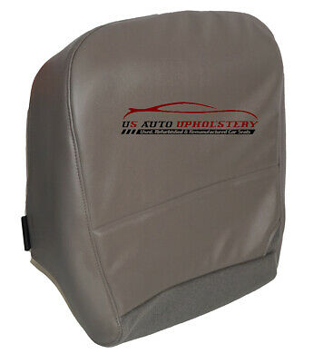 2008 2009 2010 Ford F250 XL 4X4 Work Truck Driver Bottom Vinyl Seat Cover Gray