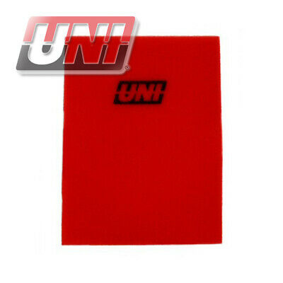 "UNI FILTER BF-5 Uni Foam Filter Sheet 12"" X 16"" X 3/8"" 40 Ppi Red Coarse Fo"