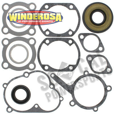 Winderosa Complete Gasket Kit with Oil Seals For Yamaha SRX440E 1981 440cc