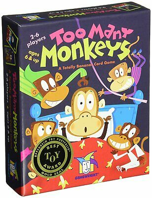 Gamewright Too Many Monkeys Jeu