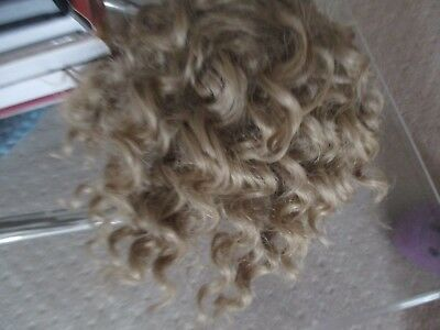 Bjd 1/4 Dolls Brown Curly Wig