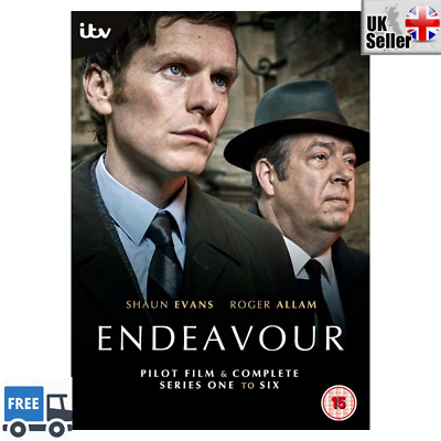 Endeavour Complete Series 1 to 6 [2019] DVD