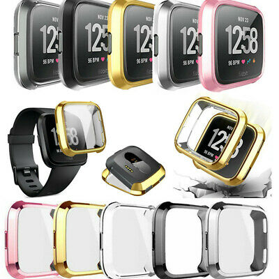 Silicone Protective Case Frame For Fitbit Versa Smart Cover Watch Accessories