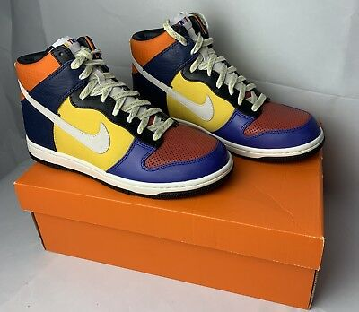 reputable site ff39c bf058 Nike Dunk High Supreme Be True Pack 321762-611 Rare Deadstock New Sb 2008 Sz