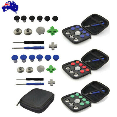 11PCS Thumbsticks Joystick Buttons Tool Kit For PS4 XBox One Elite Controller AU