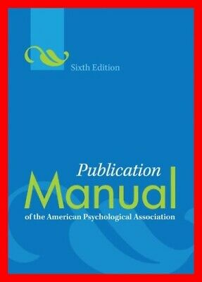 Publication Manual of the American Psychological Association (6th Edition) [PDF]