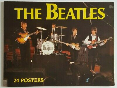 The Beatles 24 Posters Excellent 1983 book full of glossy posters