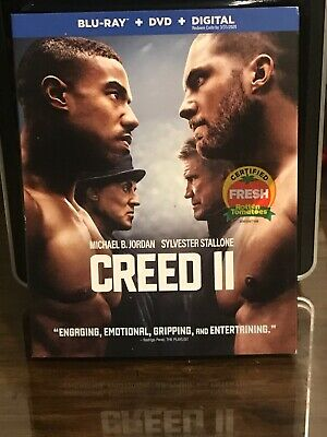 CREED 2 ( blu ray/dvd/digital ) BRAND NEW/FACTORY SEALED