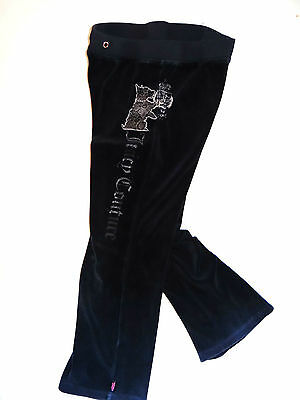JUICY COUTURE Süße navy Wohlfühlhose Sporthose Loungewear Gr.8/128 TOP!