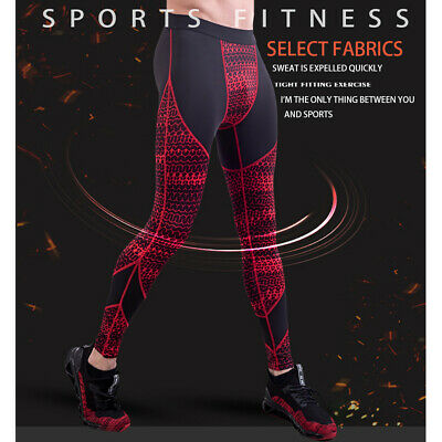New Men Cycling Long Pants Tights Trousers Legging Bicycle Bike Padded Thermal R